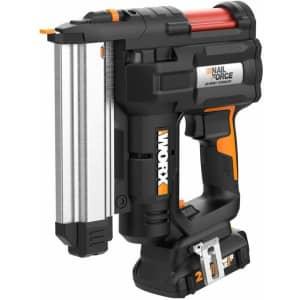 Worx 20V PowereShare NailForce 18-Gauge Brad Nail & Staple Gun for $265