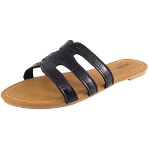 Ubxrin Women's Slide Sandals for $10