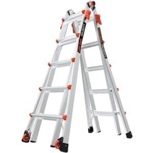 Little Giant Ladders 22-Foot Ladder w/ Wheels for $240