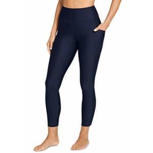 Jockey Women's Activewear Performance 7/8 Legging, Blue Velvet, XL for $25
