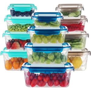 Dusasa 24-Piece Food Storage Container Set for $18