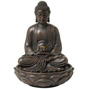 "John Timberland Lighting 27.5"" Buddha Fountain for $160"