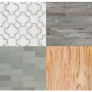 Flooring and Tiles at Home Depot: Up to 20% off