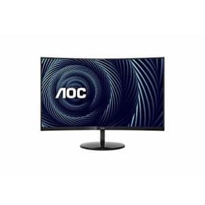 "AOC CU32V3 32"" Super-Curved 4K UHD monitor, 1500R Curved VA, 4ms, 121% sRGB Coverage / 90% DCI-P3, for $508"