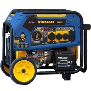 Firman Generators 7500W/9400W Tri-Fuel Generator for $800