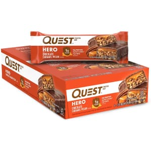 Quest Nutrition Hero Protein Bar 10-Count for $28