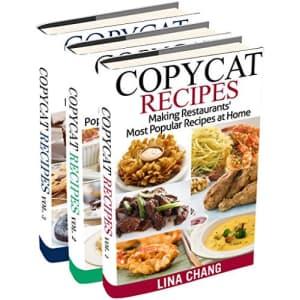 Copycat Recipes Kindle eBook 3-Book Boxset for free