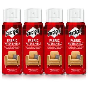 Scotchgard 10-oz. Fabric Water Shield 4-Pack for $21