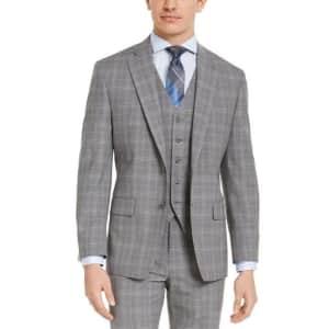Michael Kors Men's Stretch Wool Suit Jacket (L sizes) for $48