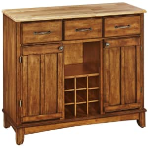 """Home Styles Buffet-of-Buffets 42"""" Server w/ Natural Wood Top for $281"""