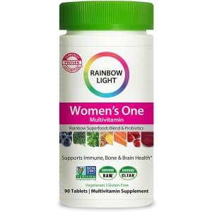 Rainbow Light Women's One Multivitamin 90-Tablet Bottle for $30