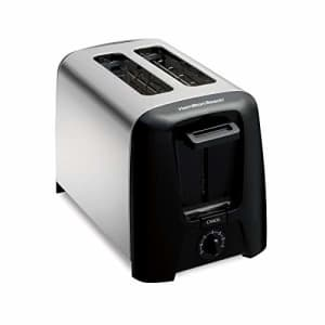 Hamilton Beach 2-Slice Extra-Wide Slot Toaster with Shade Selector, Toast Boost, Auto-Shutoff and for $31
