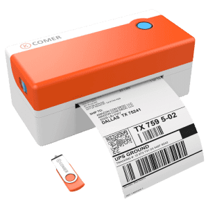 K Comer Thermal Label Printer for $78