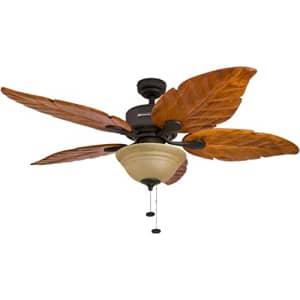 "Honeywell 50204-01 Royal Palm Ceiling Fan, 52"" (Sngl pk) for $350"