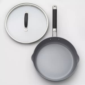 """Made by Design 10"""" Ceramic Coated Aluminum Covered Sauté Pan for $25"""