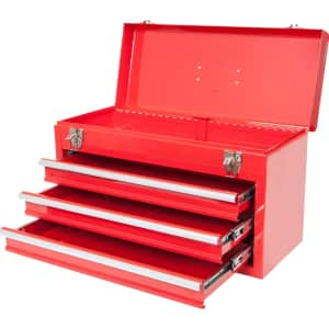 Big Red Torin 3-Drawer Tool Box for $72