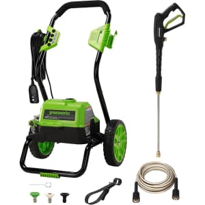 Greenworks 2,000-PSI Electric Pressure Washer for $159