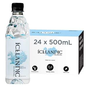 Icelandic Glacial Natural Spring Alkaline Water 16-oz. 24-Pack for $25 via Sub & Save