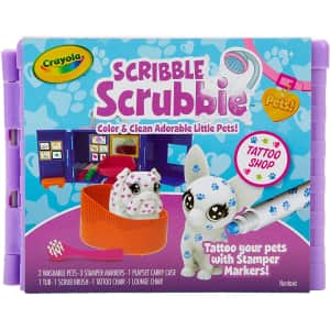 Crayola Scribble Scrubbie Pets Tattoo Shop for $7