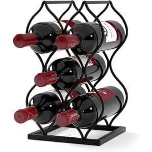 Will's Imperial Trellis 5-Bottle Wine Rack for $24