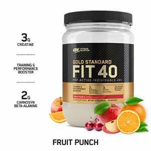 Optimum Nutrition Gold Standard FIT 40 PreWorkout Booster, Fruit Punch, 11.3 Oz for $20
