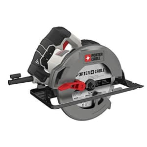 """Porter-Cable 15A 7.25"""" Steel Shoe Circular Saw for $51"""