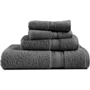 Chateau Home Collection 4-Piece Towel Set for $10