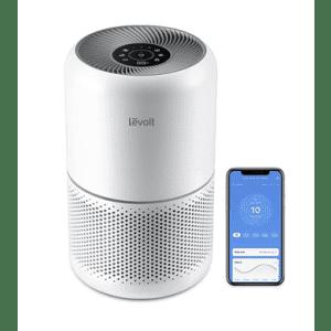 Levoit Core 300S Smart WiFi True HEPA Air Purifier for $105