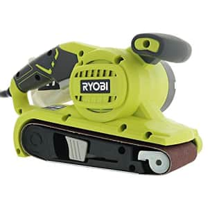 Ryobi BE319 6 Amp Portable 320 Feet / Minute Corded Belt Sander (3 x 18) w/ Onboard Removable Dust for $85