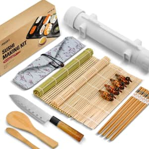 Isseve All-in-One Sushi Making Kit for $13