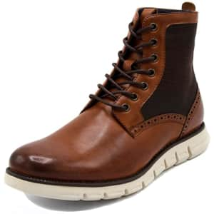 Nautica Men's Lace Up Chukka Derby Boots for $50