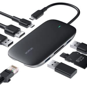 Hoyoki 8-in-1 USB-C Hub for $40