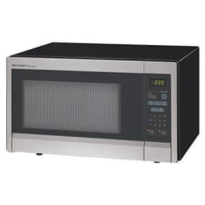 SHARP R331ZS Microwave Oven,SS,1000W for $100