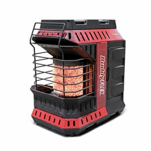 Mr. Heater MH11BFLEX Portable Propane Heater, Red for $149