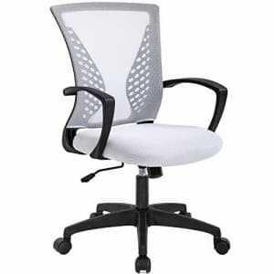BestOffice Mesh Office Chair Ergonomic Desk Chair Computer Chair with Lumbar Support Armrest Rolling Swivel for $55