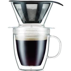 Bodum 12-oz. Pour Over Coffee Dripper Set for $11