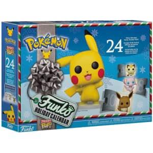 Funko Pop! Pokemon Advent Calendar 2021: preorders for $42