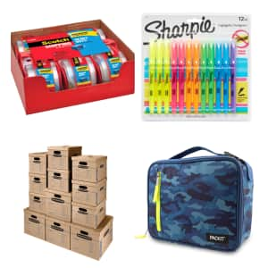 Back-to-School Gear at Amazon: Extra $10 off $100