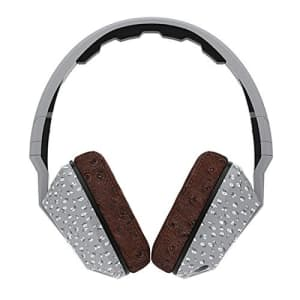 Skullcandy Crusher Headphones with Built-in Amplifier and Mic, Microfloral Grey and Black for $60