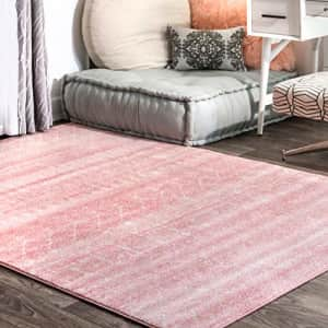 nuLOOM Moroccan Blythe Area Rug, 8' Square, Pink for $161