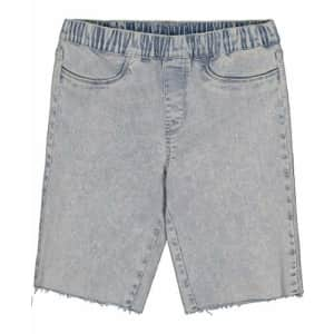 Calvin Klein Girls' Bermuda Short, S21 Acid Wash Pull On, 4 for $14