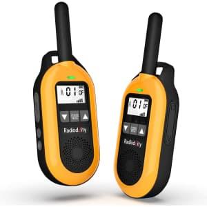Radioddity 2-Way FRS Walkie Talkies for $30