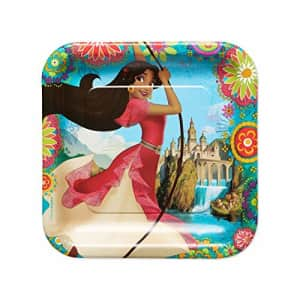 American Greetings Elena of Avalor Party Supplies, Disposable Dinner Plate, 8-Count for $6