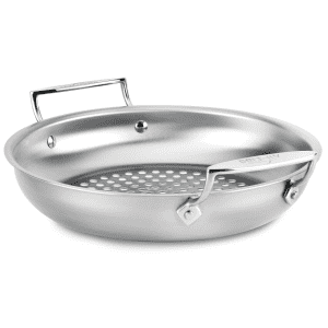 All-Clad Round Basket Grilling Pan for $20
