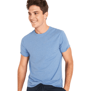 Old Navy Men's Soft-Washed Crew-Neck T-Shirt for $4