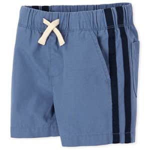 The Children's Place Baby Boys' Solid Jogger Shorts, Hudson Bay, 6-9MONTHS for $5