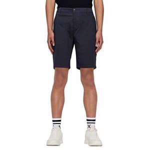 A|X Armani Exchange Men's Classic Bermuda Shorts, Deep Navy, 34 for $41