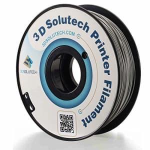 3D Solutech Real Grey 3D Printer PLA Filament 1.75MM Filament, Dimensional Accuracy +/- 0.03 mm, for $19