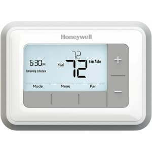 Honeywell T5 7-Day Programmable Backlit Thermostat for $30