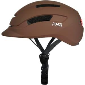 PHZ Adults' Bike Helmet w/ Rear Light for $32